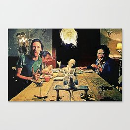 The Dinner Scene Canvas Print