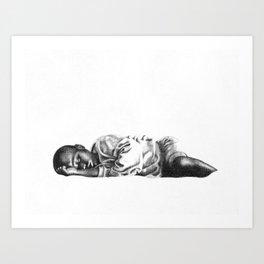 Streets of Uganda Art Print