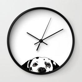 Dalmatian #1 Wall Clock