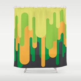 Slime Shower Curtain