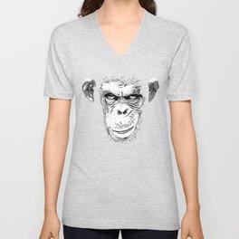 Evil Monkey Unisex V-Neck