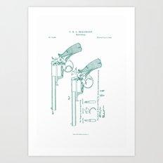 Beaumont Revolver ~2 Art Print