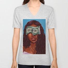blinded Unisex V-Neck