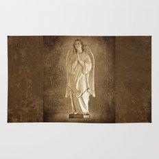 Archangel Gabriel in Prayer Rug