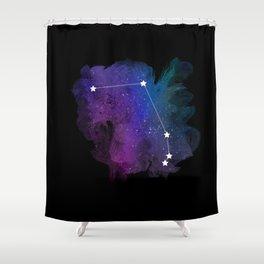 Aries constellation Shower Curtain