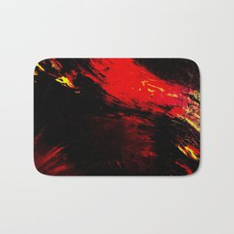 Abstract Heat by Robert S. Lee Bath Mat
