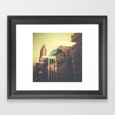Carrington Event Framed Art Print