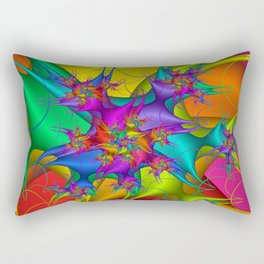 Explosion in a paint factory! Rectangular Pillow