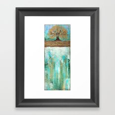 Summers Roots Framed Art Print