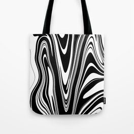 Stripes, distorted 2 Tote Bag