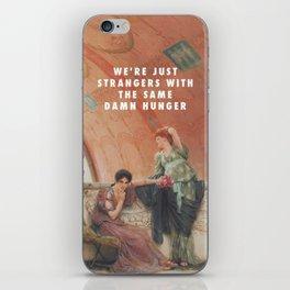 Lawrence Alma-Tadema, Unconscious Rivals (1893) / Halsey, Strangers ft. Lauren Jauregui (2017) iPhone Skin