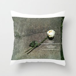 I like it, You don't, Who Cares Throw Pillow