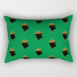 The Maestro - Green Rectangular Pillow