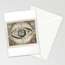 Harmonia Macrocosmica Map - Plate 02 Stationery Cards