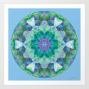 Mandalas of Healing and Awakening 10 by artworkbyatmara