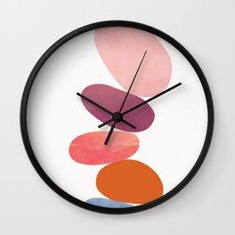 Balancing Stones 23 Wall Clock