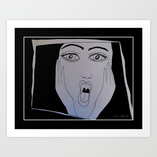 OH, the Horror!!! Art Print