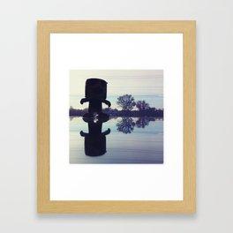 The Gunns Figure Framed Art Print