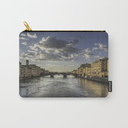View from the Ponte de Vecchio in Florence, Italy Carry-All Pouch