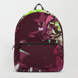 Black Swan Poppy Graphic Iamge Backpack