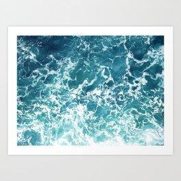 Print 213 - Ocean Water 3 Art Print