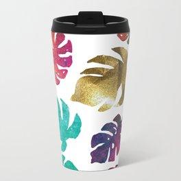 Kiss of Gold, cool calming colors to  change any mood. Metal Travel Mug