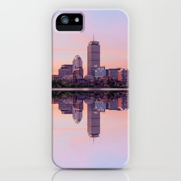 Boston in the morning iPhone Case