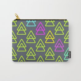 neon triangles Carry-All Pouch