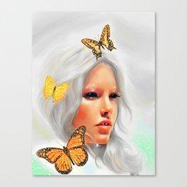 Fluttery 2 Canvas Print