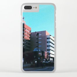 Sheffield Skyline Clear iPhone Case
