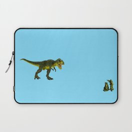 Dinosaurs vs Toy Soldiers Laptop Sleeve