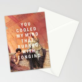 cooled my mind Stationery Cards