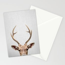 Deer - Colorful Stationery Cards