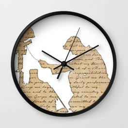 The Marine's Prayer Wall Clock