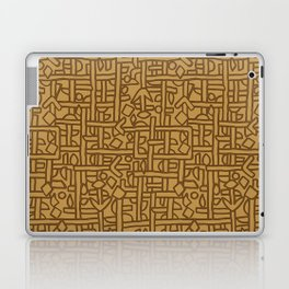 Ornament ethnic Laptop & iPad Skin