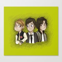 the perks of being a wallflower Canvas Prints featuring The Perks Of Being a Wallflower by Laia™