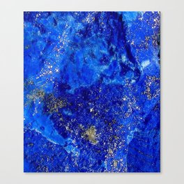 Lapis Dreams Canvas Print