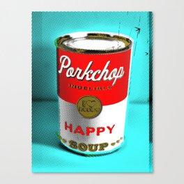 CONDENSED HAPPY Canvas Print