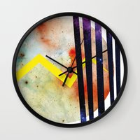 attack on titan Wall Clocks featuring Titan. by Crazy&CoolDesigns