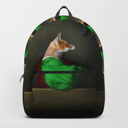 Portrait of the Fox and the Grapes Backpack