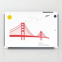 san francisco iPad Cases featuring San Francisco.  by Irmak Berktas