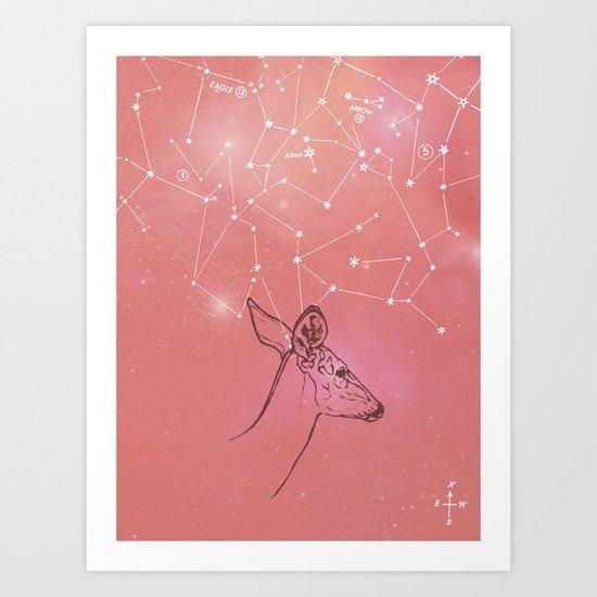 Constellation Prize Art Print