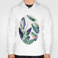 tropical Hoodies featuring tropical #1 by LEEMO