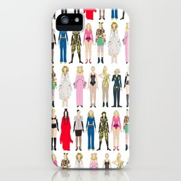 Outfits of Madge Fashion iPhone Case