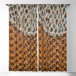 texture - connections Blackout Curtain