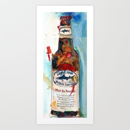 Dogfish Head Brewery - 90 Minute IPA  Art Print
