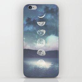 Rising Moon iPhone Skin