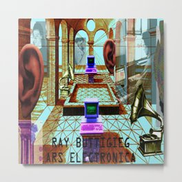 RAY BUTTIGIEG ~ ARS ELECTRONICA Metal Print