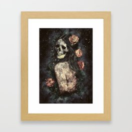 Morbid Beauty Framed Art Print