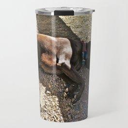 Sleepy Alaska Travel Mug